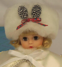 "Madame Alexander Kins WINTERTIME 1992 MADC Premiere 8"" Christmas Wendy Doll MIB"