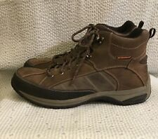 Dunham Lawrence Brown Leather Lace Up Boot by New Balance, US 12