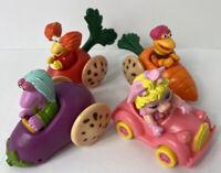 Vintage McDonald's 1986 Muppet Babies Happy Meal Toys Lot Of 4 #4 DA92984