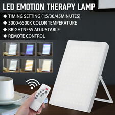 SAD LED Light Seasonal Affective Disorder LED Lamp Devices With Remote Control