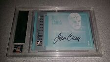 JIM CRAIG TEAM USA 80 MIRACLE AUTOGRAPHED SIGNED 05-06 IN THE GAME ULTIMATE CARD