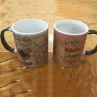 For Harry Potter Marauder's Map Color Changing Magic Cup Heat Sensitive Coffee