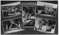 Romania Transylvania 1940s  Dej Dés,city in Cluj County,Salt Mine,multiple view