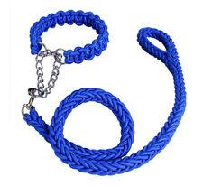 Nylon Dog Collar and Leash Dog Harness Collar Large for Golden Retriever Labrad