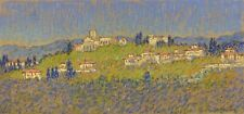 WILBUR AARON REASER 19th-20th c. American PASTEL LANDSCAPE PAINTING CA Artist