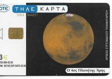 RARE / CARTE TELEPHONIQUE - PLANETE ESPACE SPACE COSMOS / PHONECARD TELEFONKARTE