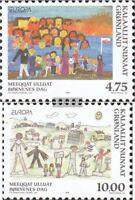 Dänemark-Grönland 323-324 (kompl.Ausg.) postfrisch 1998 Nationale Feste