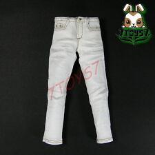ACI Toys 1/6 Moda 710_ White Jeans only _Fashion AT037E