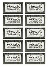 50 blades Wilkinson Sword Double Edge Razor Blades