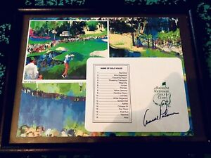 ARNOLD PALMER AUTOGRAPHED AUGUSTA NATIONAL MASTERS SCORECARD