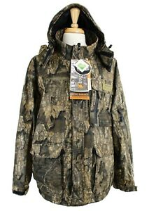 FroggToggs Dead Silence Jacket Brushed Camo Full Zip Waterproof Hooded Coat