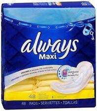 Always Maxi Pads Regular 48 Each