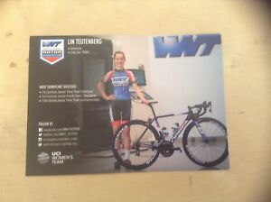 Lin Teutenberg WNT-ROTOR Pro Cycling Women's Rider Card