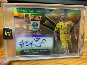 Panini Select Soccer Andriy Shevechenko Auto /49 Ukraine SSP