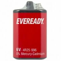 EVEREADY 4R25 6V Battery 6 Volt 996 PJ996 430 908 908S Lantern 4R25X 4R25RZ/B