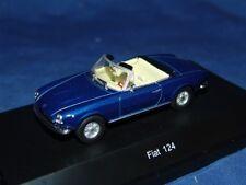 1 FIAT 124 SPIDER BLUE 1:43 STARLINE