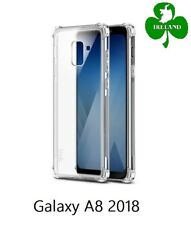 Samsung Galaxy A8 2018 Case Cover Crystal Clear Gel Protective ShockProof Case