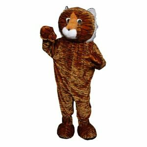 Tiger Mascot - Size Adult (one size fits most)