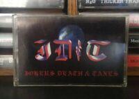 Jokers, Death, & Taxes - Unamed II Cassette Tape JDC Hard Rock RARE OOP