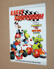 Nintendo Karts Kompendium Heft Mario Kart 64 Diddy Kong Racing