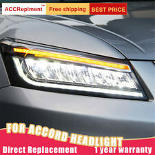 For Honda Accord 8 Headlights assembly ALL LED Lens Projector LED DRL 2008-2012