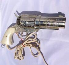 VINTAGE CADDYSHACK 80s MAGNUM 357 REVOLVER PISTOL JERDON  GUN HAIR DRYER, WORKS