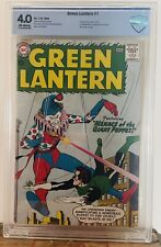 Green Lantern #1 (1960) CBCS 4.0 KEY 1st Issue 1st Guardians of the Universe CGC