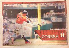 "Carlos Correa 18"" x 12"" Mural Poster HOUSTON ASTROS FATHEAD Wall Graphics Vinyl"