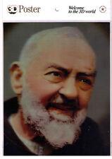 Poster 3D Padre Pio - con effetto vivente -  nuovo in Offerta!