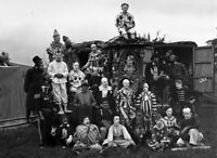 Circus, Clowns, Posters, Oddities, Vintage reprint Quality 8.50 x 11 photo 319