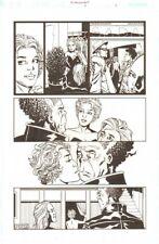 Establishment #6 p.8 - Mr. Pharmacist 'Walking Dead' Artist by Charlie Adlard Comic Art