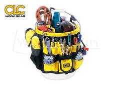 CLC 4122 Custom Leathercraft 5 Gallon 61 Pocket Bucket Organizer & Tool Holder