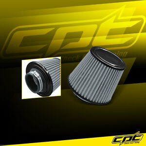 """2.75"""" Stainless Steel Cold Air Short Ram Intake Filter Black for Dodge"""
