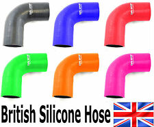 90° DEGREE REDUCER SILICONE ELBOW TURBO INTERCOOLER RADIATOR BOOST COOLANT HOSE