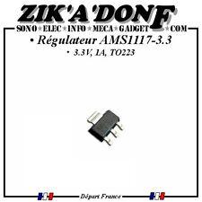 Régulateur AMS1117-3.3 3.3V 1A TO223 (Expédié depuis la France)