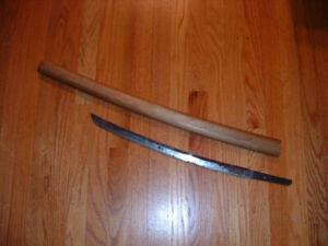 [SMA77] Japanese Samurai Sword:  Norisada Wakizashi Blade