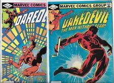 Daredevil #185 & #186   Lot of 2  (1982, Marvel Comics)