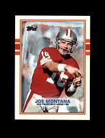 1989 Topps Football #12 Joe Montana (49ers) NM-MT
