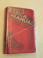 1940, Leica Manual and Data Book, 3rd Ed/3rd Print, HBw/dj, VG