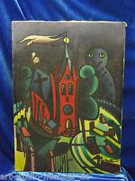 J. Bulte:Expressionistisch/symbolistisches Bild aus den 40/50er Jahren