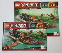 ~~LEGO NINJAGO 70623 - INSTRUCTION MANUAL ONLY
