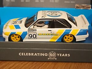 SCALEXTRIC C3829A Scalextric 60th Anniversary BMW M3 Ltd Edition of 2000