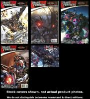 Transformers: The Reign of Starscream 1-5 IDW 2008 Complete Set Run Lot VF/NM