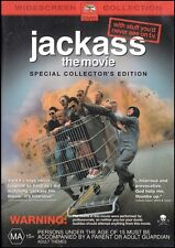 JACKASS the MOVIE (Johnny KNOXVILLE Bam MARGERA Steve-O) Comedy DVD NEW Region 4