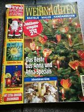Anna Special - Weihnachten 1999 - Basteln - Malen Handarbeiten