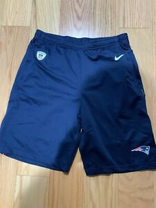 Nike NFL Men's New England Patriots Dri-FIT Coach Shorts Size S BNwT AO3139-419