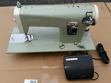 MINTY Kenmore Sears Roebuck 1960's Sewing Machine & Pedal STRONG ALL STEEL CLEAN