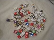 dice listing lot 100 mixed di game gaming lot mix number some vintage  .C