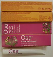 2 x OSANIT & OSA Gel PACK Homeopathic Sugarfree WYSYŁKA GRATIS !!! WARSZAWA