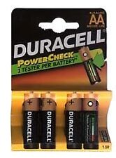 Duracell Power Plus Alkaline Battery Aax4 #7641